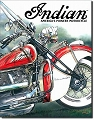 Indian Motorcycle America's Pioneer Metal Tin Sign