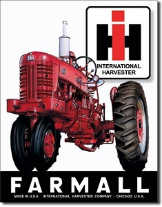 Farmall 400 Metal Sign