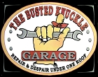 Busted Knuckle Garage Metal Tin Sign