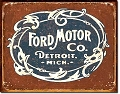 Ford Motors Logo Metal Tin Sign