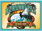 Boardwalk - Surfing Metal Sign