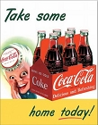 Coke Sprite Boy Metal Tin Sign