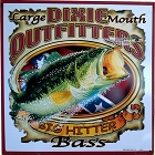 Outfitter Bass Metal Sign