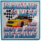 Racing Elite Metal Sign