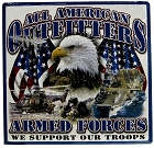 Armed Forces Metal Sign