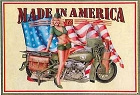 Made in America Metal Sign