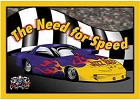 The Need for Speed Metal Sign
