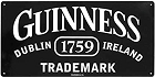 Guinness Trademark Metal Sign