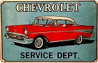 Chevy 1957 Metal Sign