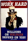 Millions on Welfare Metal Sign