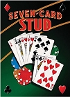 Seven Card Draw Metal Sign