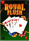 Royal Flush Metal Sign