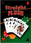 Straight Flush Metal Sign