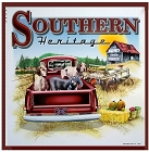 Southern Heritage Metal Sign