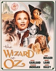 Wizard of Oz Poster Metal Tin Sign