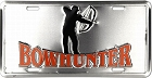 Bowhunter License Plate