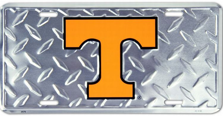 University of Tennessee Volunteers Diamond License Plate