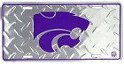 Kansas State Diamond License Plate
