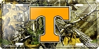 Tennessee Realtree camo License Plate