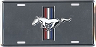 Ford Mustang Logo License Plate