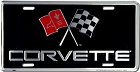 Chevy Corvette License Plate