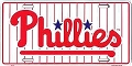 Philadephia Phillies License Plate
