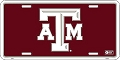 Texas A&M License Plate