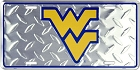 West Virginia University - Mountaineers Diamond License Plate