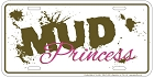 Mud Princess License Plate