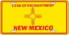 New Mexico Flag License Plate