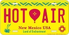 NM Hot Air License Plate