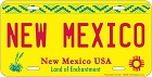 NM New Mexico License Plate