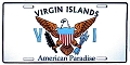 Virgin Islands License Plate