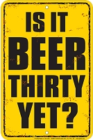 Beer Thirty Sm. Parking Sign