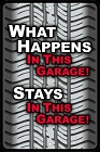 Garage Happens - Sm. Parking Sign