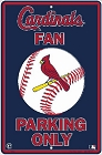 St. Louis Cardinals Lg. Parking Sign