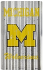Michigan University Wolverines Corrugated Large Sign