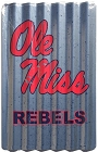 University of Mississippi - Ole Miss Corrugated Large Parking Sign