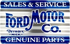 Ford Motors Corrugated Large Sign