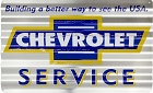 Chevrolet Service Corrugated Large Sign
