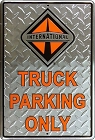 International Truck Large Parking Sign