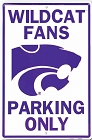 Kansas State Wildcats Large Parking Sign