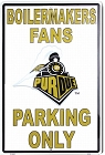 Purdue Large Parking Sign