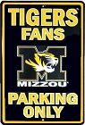 University of Missouri Large Parking Sign