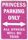 Princess Large Parking Sign