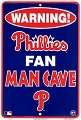 Philadephia Phillies Fan Man Cave Sm. Parking Sign