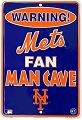 NY Mets Man Cave Small Parking Sign