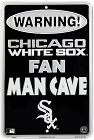 Chicago White Sox Man Cave Small Parking Sign