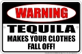 Tequila Clothes Sm. Parking Sign