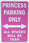 Princess Parking Sm. Parking Sign